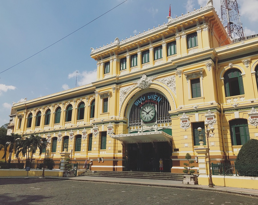 Central Saigon Post Office in Saigon Ho Chi Minh City