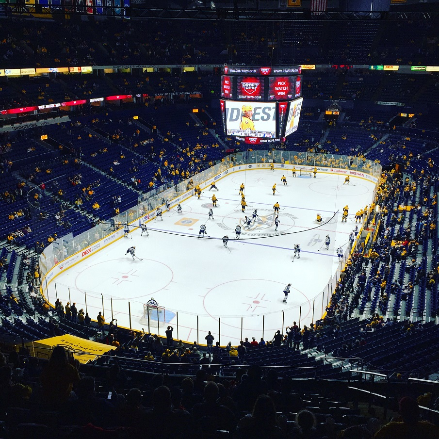 NHL Predators in Nashville Bridgestone Arena